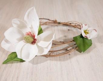 Natural Junior Floral Crown