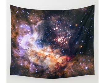 Space Tapestry, Wall Hanging, Star Tapestry, Night Tapestry, Photo Tapestry, Modern Tapestry, Wall Tapestry, Large Size Wall Art