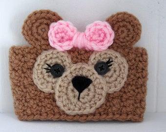 Häkeln Sie ShellieMay Bär inspiriert Teddybär Tasse Kaffee gemütlich