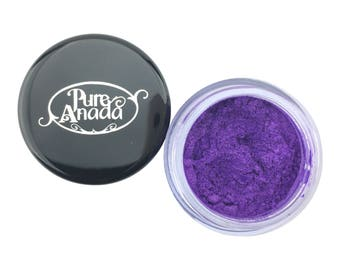 Luminous Eye Colour - Tropical Violet, Loose Mineral, Vibrant Purple, True Purple