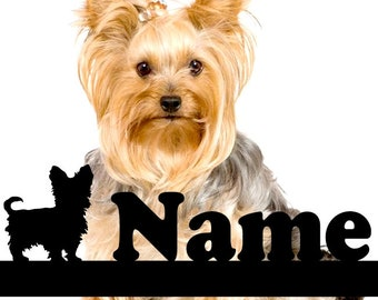 Yorkshire Terrier Personalized statuette, Yorkshire Terrier dog Personalized souvenir, A perfect gift for dog lovers, yorkshire terrier gift