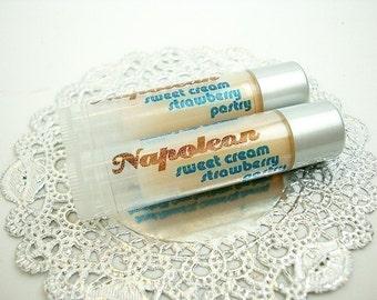 Napoleon - sweet cream strawberry pastry - Shea Lip Butter