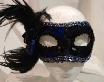 hand crafted one of a kind party mask