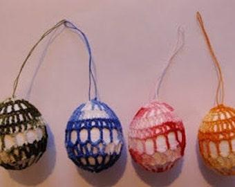 Easter egg crochet PDF pattern