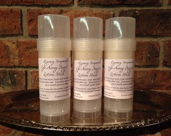 Go Away Bugs! Lotion Stick all natural handcrafted essential oils bug repellent