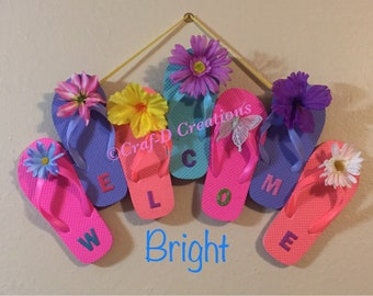Flip-Flop Welcome Wreath