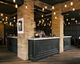 Modern Lighting Restaurant Industrial Swag Chandelier 14 Pendant - Ceiling Fixture - Bar Lighting - Restaurant Lighting - Modern Chandelier