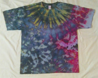 XL Ice Tie Dye Gildan Ultra Cotton T-shirt