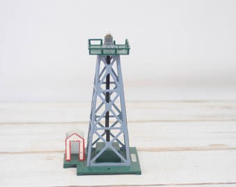 Vintage Train Beacon With Lattice Work Tower Electric #15