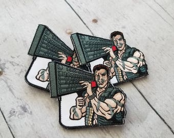 Keyboard Commando embroidered morale patch