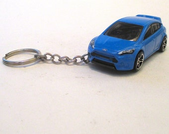 Ford Focus RS Forza Keychain,llavero keychain, 2016 Turbo Rally Forza, Mens or Womens keychain, Mens or Womens gift, sleutelhanger
