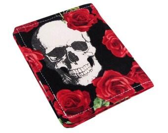 Skull Wallet, Womans Wallet, Slim Wallet, Travel Wallet, Front Pocket Wallet, Credit Card Holder, Credit Card Wallet, Wallets For Women