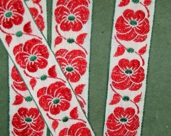 """Circa 1940""""s Pansy ribbon"""