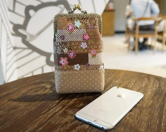 Frame Pouch for iPhone 7s plus, iPhone 8, iPhone X, Galaxy S8