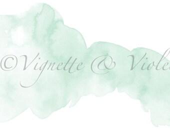 Pre-made watercolour header for blogger.