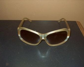 1960 1970 Gold Bakelite Sunglasses