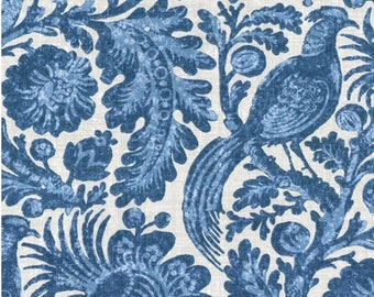 Waverly Fabric: Tucker's Resist  Color,  Wedgwood  1 1/2  yard piece