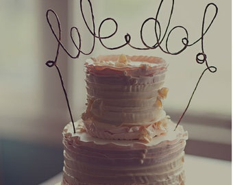 WE DO Rustic Wedding Cake Topper, Rustic Wedding Cake Topper, Rustic Wedding Decoration, Wedding Cake Decoration, Engagement, Bridal Shower