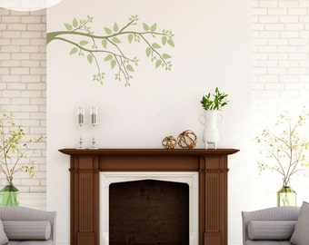 Simplicity Branch - Vinyl Wall Decals
