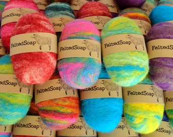 50 Felted Soap Bars Unique Gift in Bulk Wholesale Resell Retail Store Item