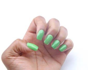 Green Nail Polish- Kiwi Krush