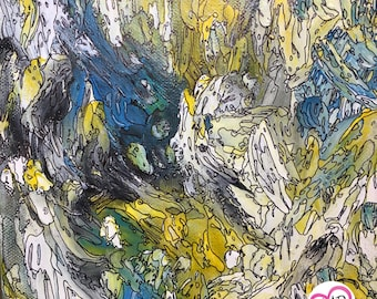 Untitled 3 Abstract Mixed Media Original Painting by J.M.Roth