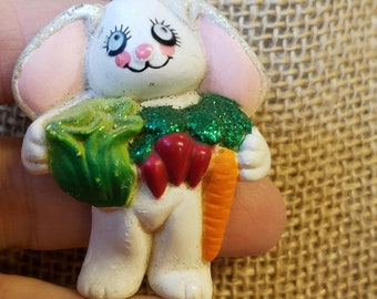 Vintage Easter Unlimited Bunny Pin, Easter Unlimited pin, Bunny Pin, Easter Unlimited
