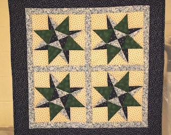 Blue Grass Star wallhanging