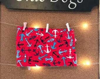 Anchors Dog Bandana