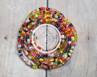 Waist Beads 194 | Body Jewelry Waist | Belly Chain | African Waist Beads | Body Jewelry | Beaded Belly Chain | Waist Chain | Waist Beads Set