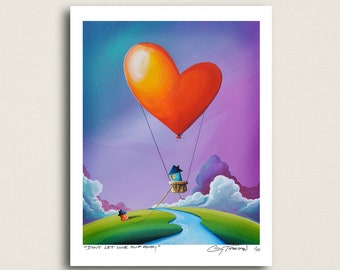 Don't Let Love Slip Away - a love story - Limited Edition Signed 8x10 Semi Gloss Print (#5/10)