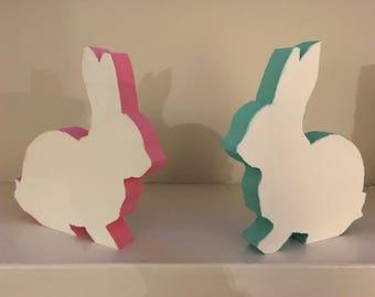 Easter Bunny and Eggs Shelf/Mantel Decor