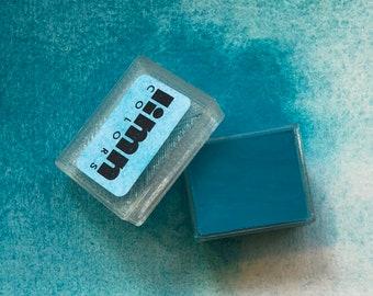 Cobalt Aquamarine Watercolor Paint (half pan)