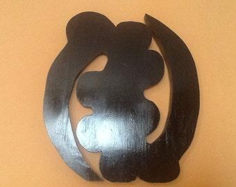Adinkra Symbol - Gye Nyame- Fear No one but God.