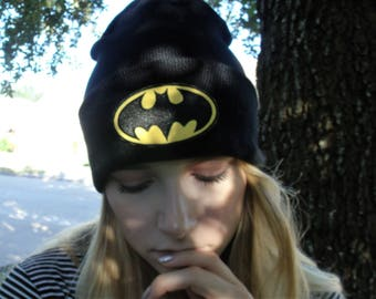 Batman inspired beanie