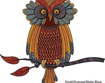 ON SALE Wise Owl Wall Sticker Decal