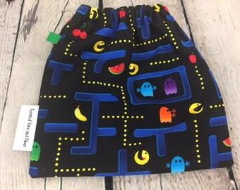 Video Game Yarn Ball bag, Yarn Bowl, Yarn Holder