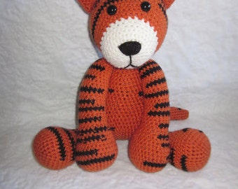 Crochet Pattern - Stripes the Tiger