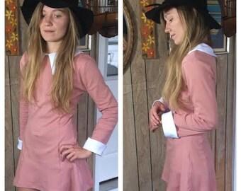 Suzy Bishop /// Peter Pan Collar Shift Dress /// Moonrise Kingdom /// Pink