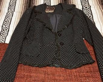Teal tweed jacket