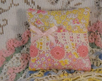 Lavender Sachet Vintage Country French Cottage Country French