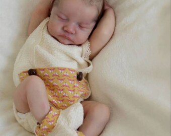 Reborn Baby boy or girl Very soft and realistic, baby Levi by Bonnie Brown, custom order.