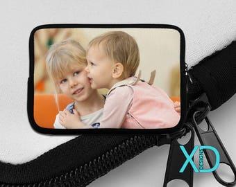 Custom iPad Sleeve, Custom Kindle Sleeve, Custom iPad Mini Sleeve, Personalized Case, Double Sided Design, Custom Tablet Case, Custom Gift
