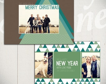 Christmas Card: O Christmas Tree C - Holiday Card 5x7 Template