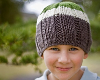 Boy's Knitted Beanie / Hat by Sheeps Clothing
