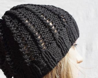 Black Cotton cap
