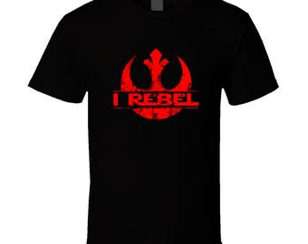 Star Wars Rogue One - I Rebel T Shirt