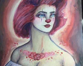 The Sad Clown's Wife Original