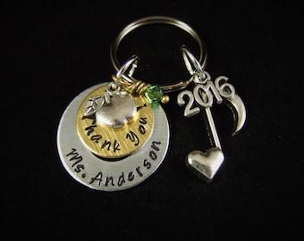 Music Teacher Gift, Piano Teacher Gift, Music Note Necklace, Thank You Teacher Gift, Band Teacher Gift