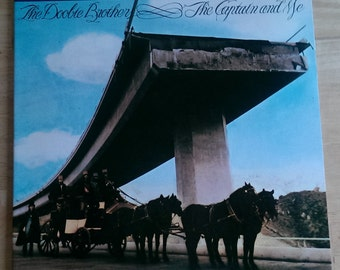 The Doobie Brothers - The Captain and Me - NR5 - 1973 (1979 reissue) - Nautilus Half Speed Master SuperDisc - 140 gram - VG+